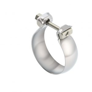 Stainless Steel Half Moon / Swivel Joint Clamp